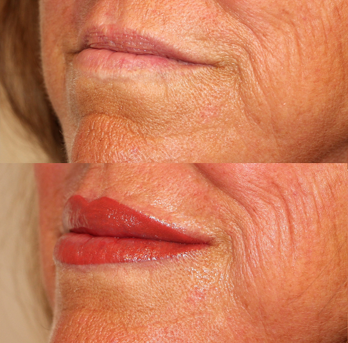 Разновидности техник перманентного макияжа губ