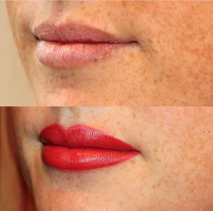 Преимущества перманентного макияжа губ